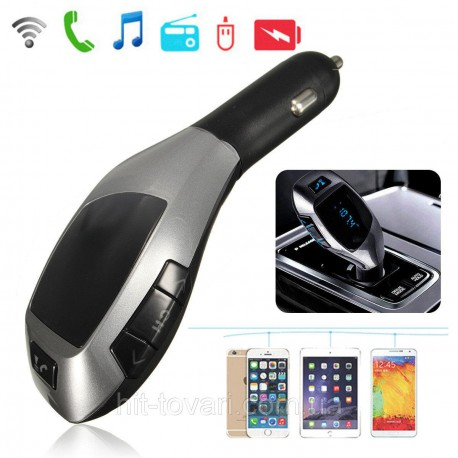 X5 LCD Wireless FM Transmitter MP3 Player TF Car Kit Charger‎