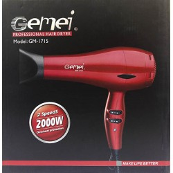 Профессиональный фен для волос Gemei GM-1715