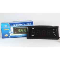 Настольные электронные часы с термометром Caixing CX-868