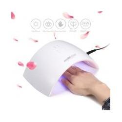 АКЦИЯ!Лампа для сушки ногтей Sun 9s UV LED, 24W с дисплеем