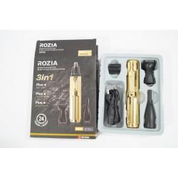 Триммер для носа бороды и ушей Rozia HD-102A 3 в 1