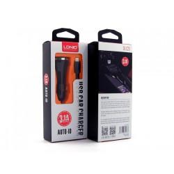 оптом Автомобильное зарядное устройство DL-C23I + кабель Lightning