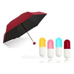 Зонт в футляре капсула | мини зонт в капсуле купить | зонт капсула оптом