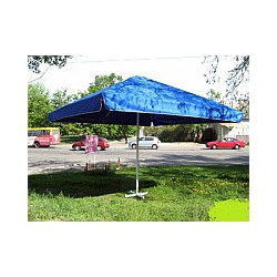 Зонт торговый, прямоугольный, 3х2 метра, с ветровым клапаном оптом