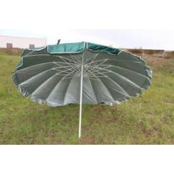 Зонт торговый круглый (диаметр 3м) 10 спиц с клапаном, с напылением
