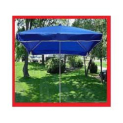 Зонт торговый, садовый 3х3м с ветровым клапаном. Мощный зонт для торговли. Синий!