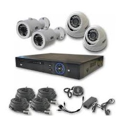 видеонаблюдения камеры AHD KIT 4ch