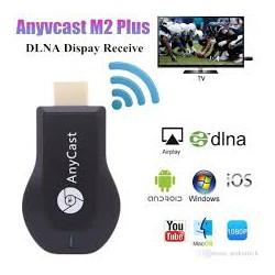 Медиаплеер Miracast AnyCast MX18 Plus с встроенным Wi-Fi модулем, приёмник HDMI, медиаустройство