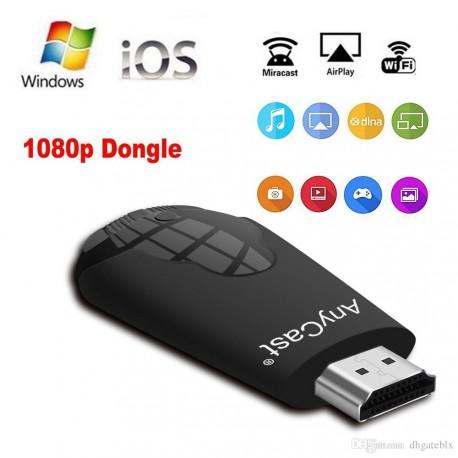 AnyCast K4 - 1 беспроводной WiFi дисплей Dongle приемник 1080P HD TV Stick Miracast Airplay DLNA зеркальное отображение