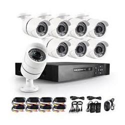 Комплект видеонаблюдения 8 камер AHD Kit 1080P.8 камер