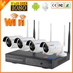 Комплект видеонаблюдения Tyto 4ch WIFI NVR Kit (1080P)