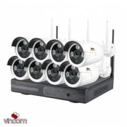 камера безопасности 2-мегапиксельная наружная система видеозаписи CCTV WI-FI NVR Видеонаблюдения Комплекты