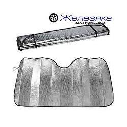 Солнцезащитная шторка (metallic) для иномарок 60х130