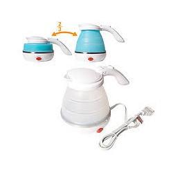 Силиконовый Складной электрический электрический чайник для воды Кемпинг & Travel Boiler