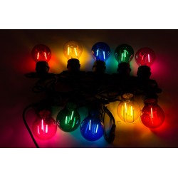 Новинка уличная гирлянда лампочки белое свечение 10 метров 20 LED ламп