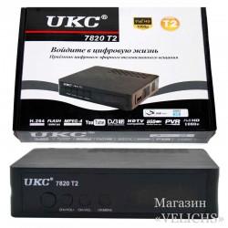 Приставка Т2 Тюнер DVB-T2 7810 UKC S Подробнее:
