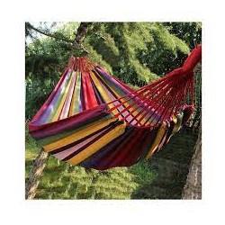 Мексиканский подвесной гамак тканевый 200*80 см Разноцветный