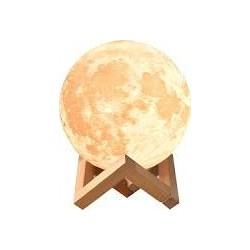 Лампа Місяць 3D Moon Lamp, Настільний дитячий світильник-нічник місяць Magic, 3D нічник світильник на