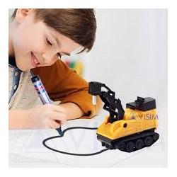 Индуктивный игрушечный детский автомобиль Inductive truck