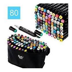 Набір скетч маркерів Sultani 80 кольорів