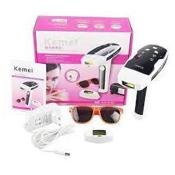 Фото эпилятор лазерный для тела и лица Kemei KM-6813