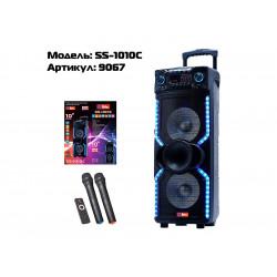 """Акустична переносна колонка SS-1010C 600Вт 15""""0х0х0см USB / SD / FM / BT / MIC /"""