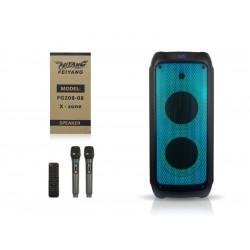 Акустична переносна колонка 8 дюймів USB / SD / FM / BT / ДУ FG-208
