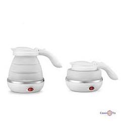 Складаний електричний чайник Foldable Kettle silicon 0.6