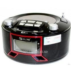 GOLON RX663RQ RED BOOMBOX RADIO RECEIVER & - BLACK